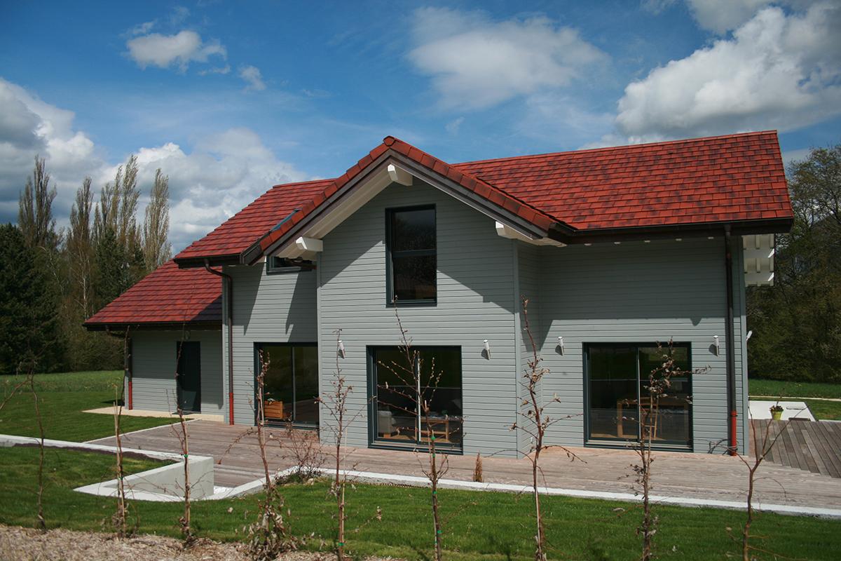 Constructeur maison bois haute savoie annemasse pays de for Constructeur maison bois